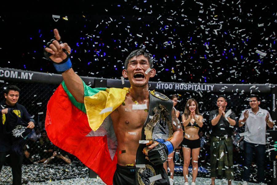Aung La Nsang says fighting in Japan would be a dream come true