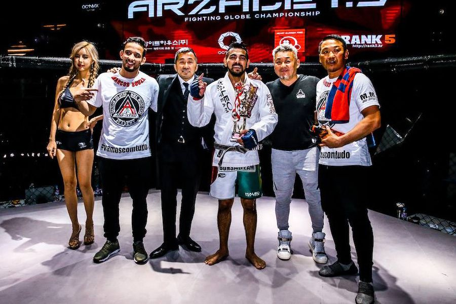 Brazilian welterweight Marcos Souza signs with Rizin | AsianMMA