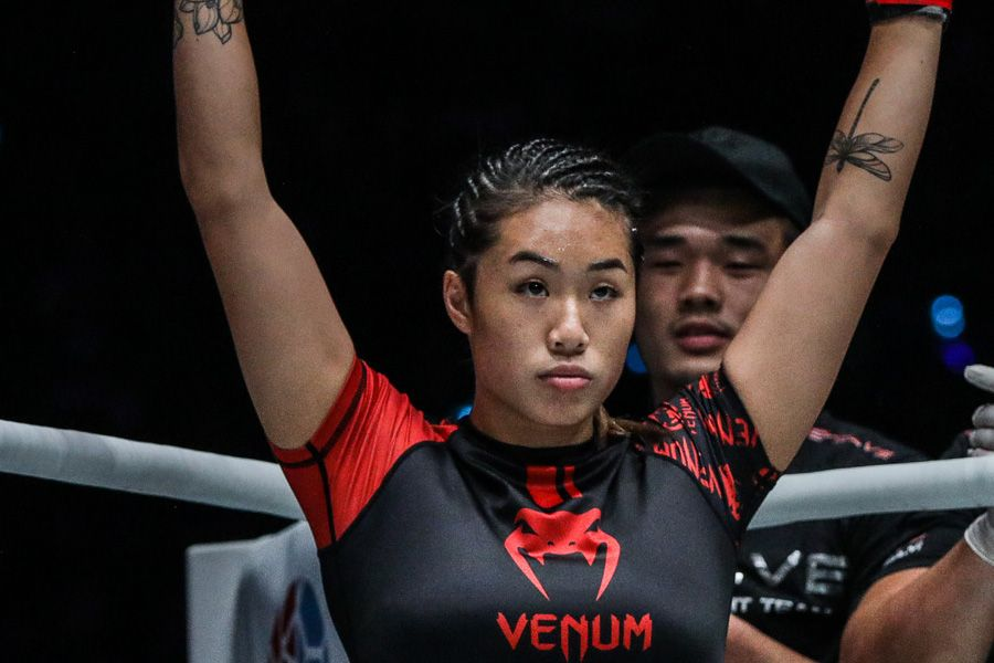 Angela Lee says she has no excuses after losing to Michelle Nicolini (Video) | AsianMMA