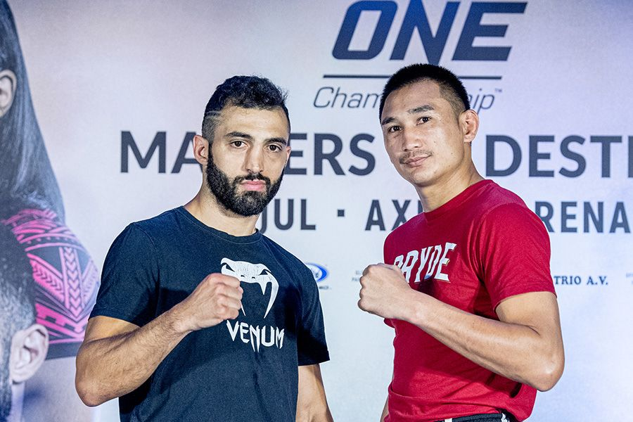 Petchmorrakot and Petrosyan face off ahead of ONE: 'Masters of Destiny' rematch   AsianMMA