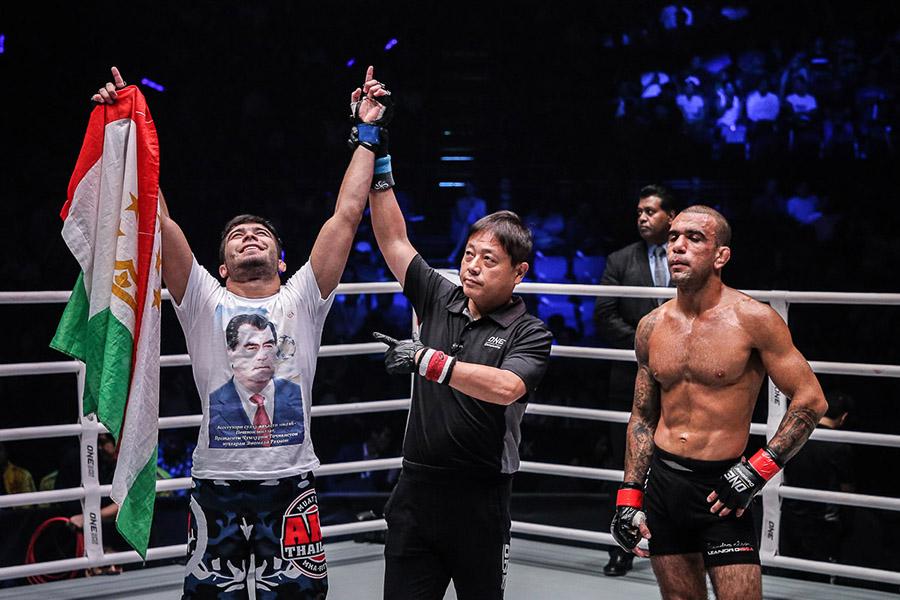Muin Gafurov feels he is underrated ahead of John Lineker fight | Asia