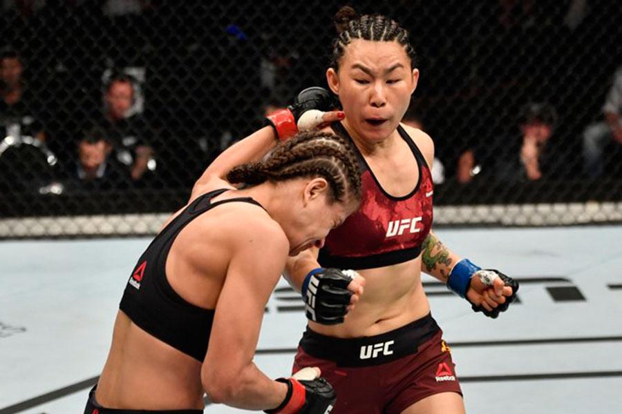 Yan Xiaonan dominates Karolina Kowalkiewicz at UFC Auckland | Asian MMA