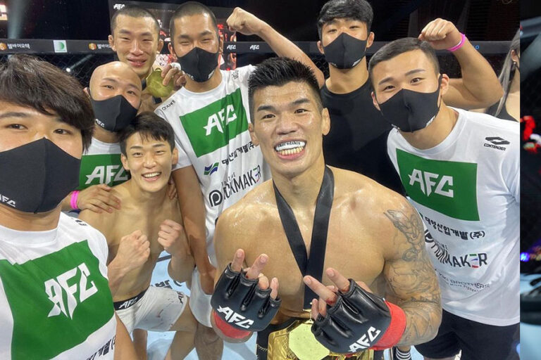 Seok Hyun Ko shuts out Jae Young Ahn to seize welterweight